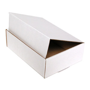 Tuck Top Mailers (White) 6 x 6 x 3