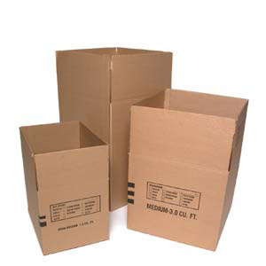 Regular Corrugated Boxes	10 x 8 x 4